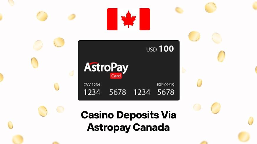 Casino Deposits via Astropay Canada